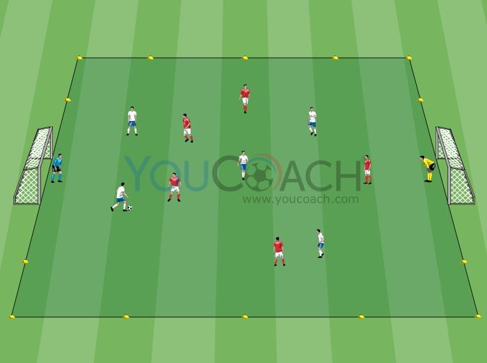 Match à thème - 5 contre 5 - But double